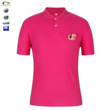 Oem 100% Cotton Work Uniform Breathable Polo Shirts Man