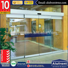 Japan Hardware Automatic Glass Sliding Door Made in Guangzhou