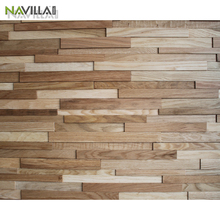New Style Decorative 3D Effect Wooden Wall Panel for interior decoration 1200*200mm Oak