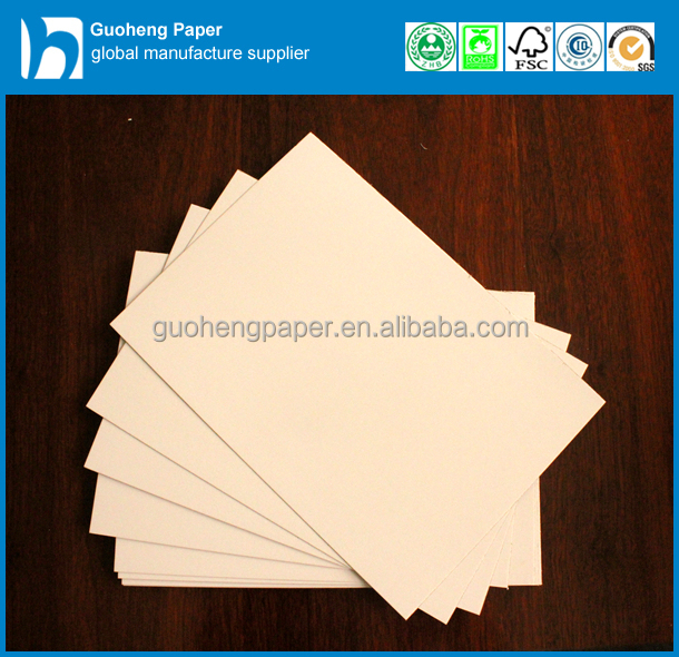 Wholesale from china paper carton gray back duplex board