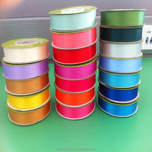 Good quality&cheap slit edged polyester satin ribbon