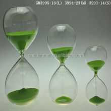 Green Decorative Cheap freight Hourglass Sand Timer