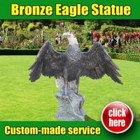 Popular Design Bronze Eagle on marble base with Great Price