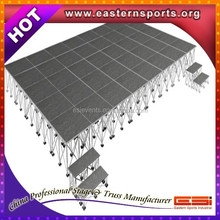 ESI Aluminum plywood stage ,portable indoor stage