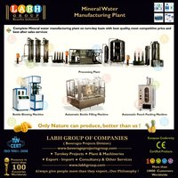 Highly Appreciated Best Performer Natural Mineral Water Producing Plants d133
