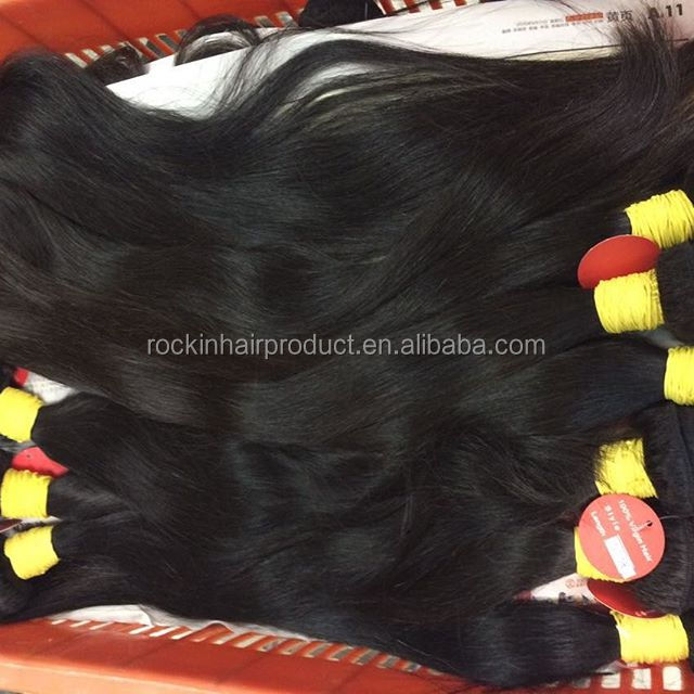 Hot Beauty 100% Human Unprocessed Virgin brazilian Hair Extension