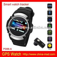 Touch screen sos accurate tracking gps watch with reasonable price