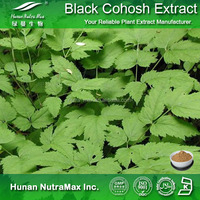 Factory supply Black cohosh extract/Triterpene Glycosides 20%/Black cohosh powder/Cure Menopausal symptoms plant extract