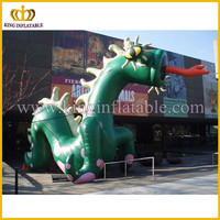 Giant outdoor inflatable monster, eye catching inflatable model for display