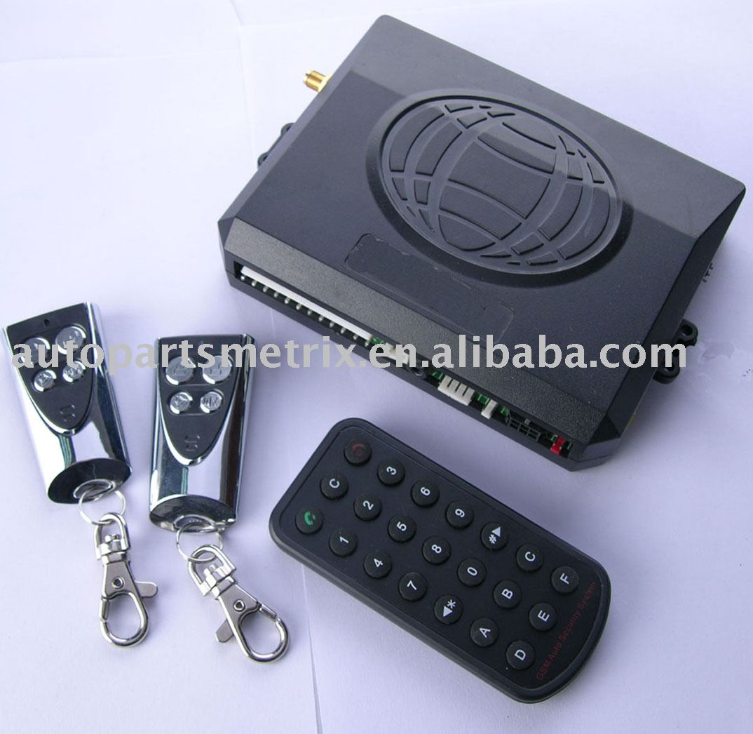 GSM car alarm Two Way Intelligent Voice GSM Car Alarm System CB108