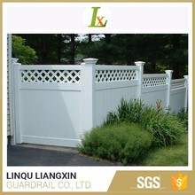 Trustworthy Factory Durable Material Grid Lattice Fence Panel