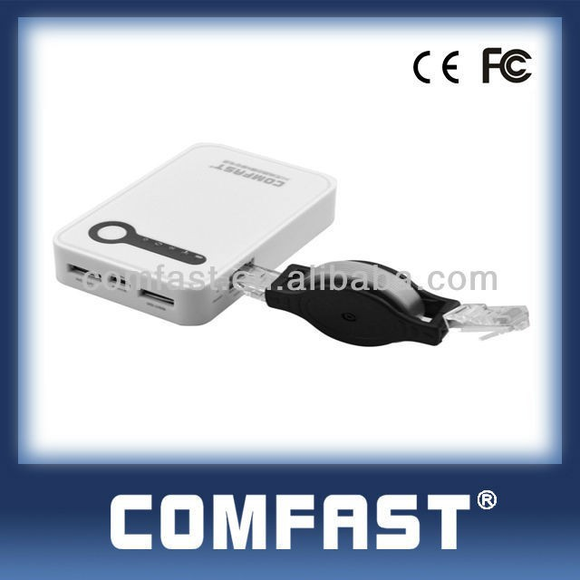 CF-WR7100N Silver White IEEE802.11n SIM Card Slot 3G Usb Adapter