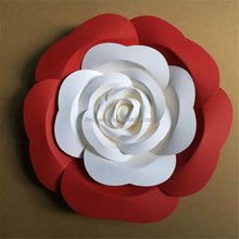 Customized Different Color Paper Flower Backdrop
