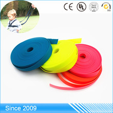 Custom colorful webbing/tpu coated nylon webbing with logo print