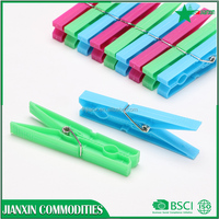 hot-selling plastic clothes hanger pegs /clips wholesale
