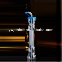 plastic water bottle,plastic cup, plastic clear tube with straw 400ml,500ml,600ml,900ml