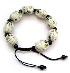 2012 newest fashion skull shamballa bracelets