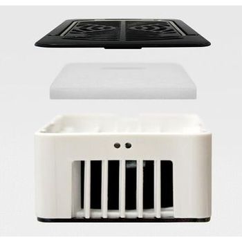 Rechargeable mini handheld portable air conditioner
