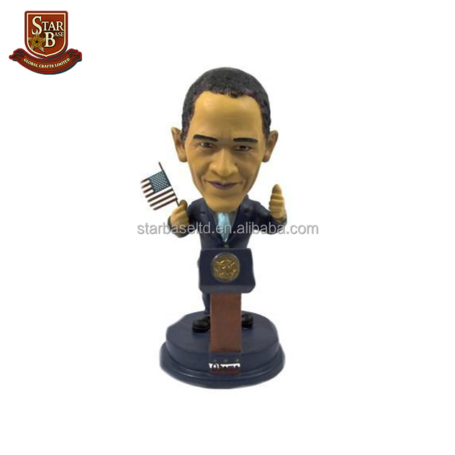 Create your own doll president obama customized cheap dashboard bobbleheads