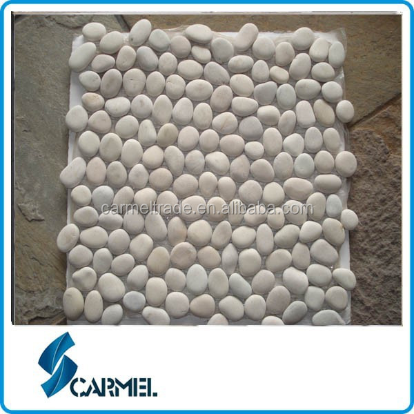 Import white Natural Pebble stone