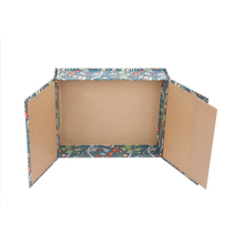 Custom color shape paper cardboard recycled packaging box