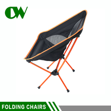 China supplies easy adult compact elderly half moon fishing outdoor beach folding camp chair for camping