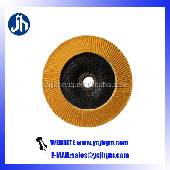 flap disc backing plastic plate