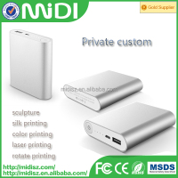 2016 Best Selling Foldable Transformers Dual USB Output Portable Power Bank 10400mAh for Mobiles