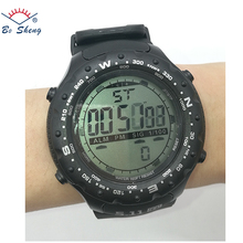 2017Bosheng: (8511) original brand black colour wrist watch analog digital sport watches
