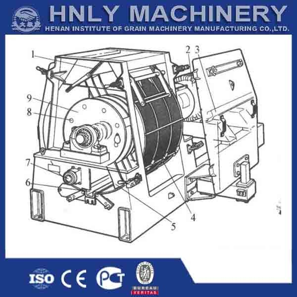 grain crusher / hammer mill feed grinder / hammer mill price