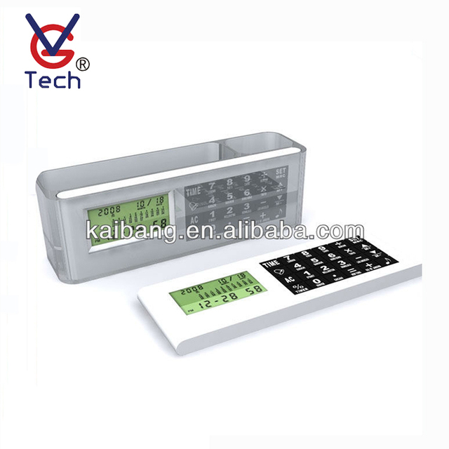 Multifunctional Digital Clock With Calendar And Calculator Function