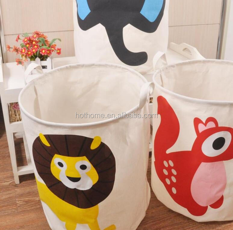 hot sale recyclede round cute laundry bag for home hotel gym