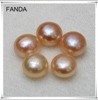 6-7mm button freshwater loose pearl wholesale price