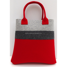 Universal fashion fabric wool felt bag