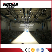 Cheap on sale aluminum black truss for fashion show/event