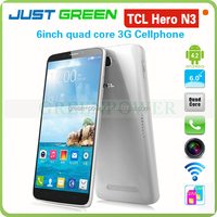 "TCL android4.2 camera 5MP/13MP dual SIM card 2GB32GB MKT6589 Quad core 6""1920*1080 smart phone"