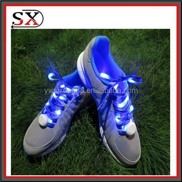The Second Generation Flashing Led Shoelaces,Available in 6 color,LED Light Up Shoelaces Shoestring