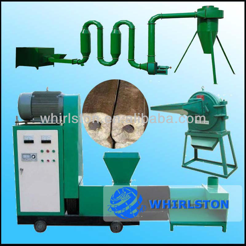 0112 leaves briquette machines with 2 year warranty
