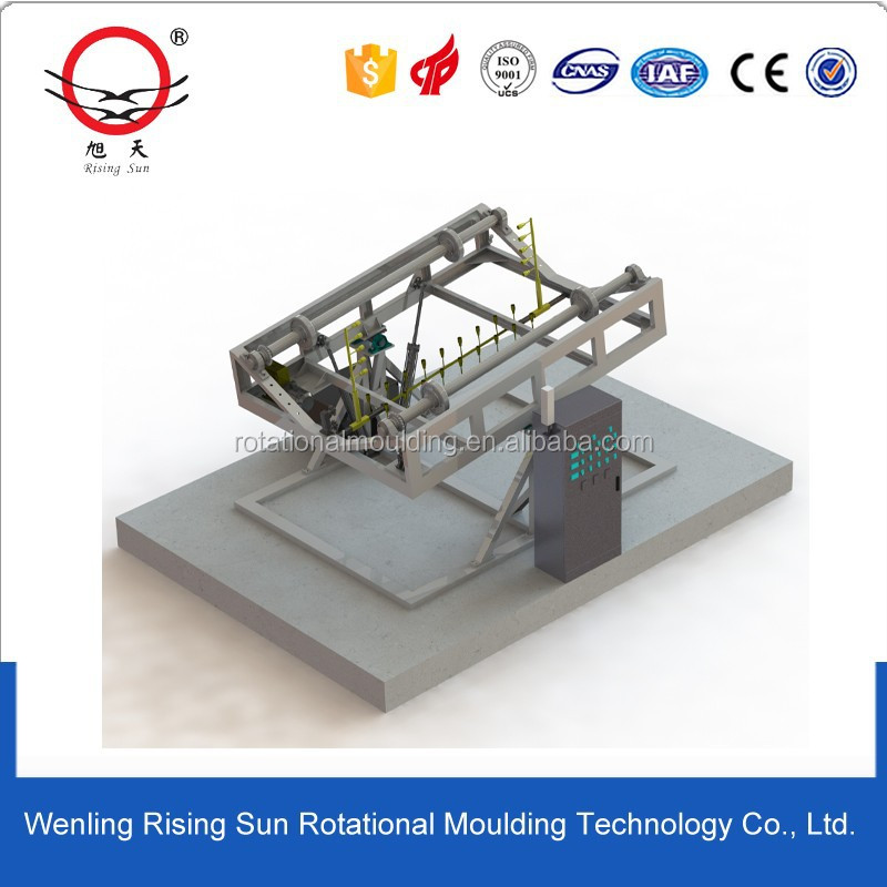 Rotational moulding weeding machine mould, rotomolded weeder mold,grubber mould