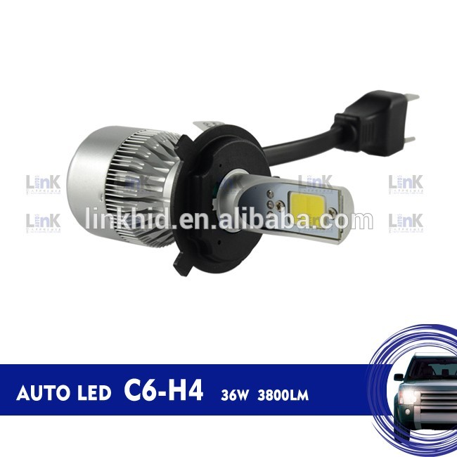 China factory directly sale 2017 auto h4 h/l head lighting 1 year warranty
