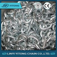 Welded Small Galvanized Short Open Anchor Link Chain