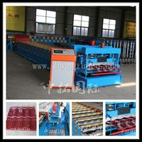 nigeria type New design zhongtuo 900 glazed tile equipment metal roof botou