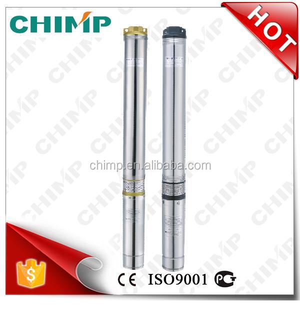 high quality 100QJ(D)4 High performance brass/iron outlet 1HP Submersible Deep Well Water Pump