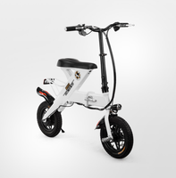 "12 "" foldable ebike 48V 10Ah light Lithium electric bike"