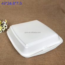 Ps food packaging box for food Foam boxd Disposable foam food containers