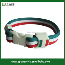 Mexico Country Flag Bracelet Factory direct sales Eco-friendly Silicon Bracelet
