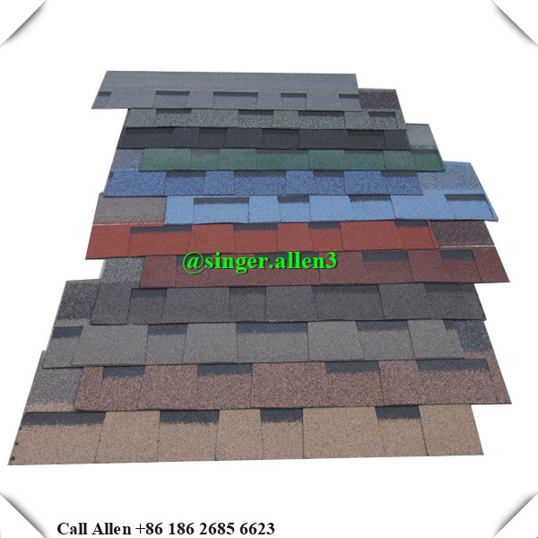 2017 new products laminated architectural asphalt roof shingle colors