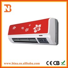 Wholesale decorative fan forced electric ptc wall heaters