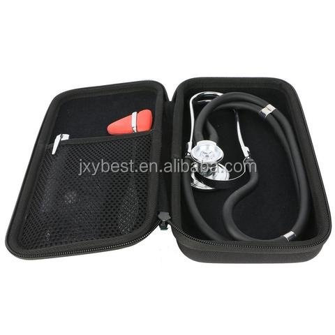 New Portable Carry Travel zipper Protective EVA Stethoscope Hard Case Cover Bag Box for 3M Littmann
