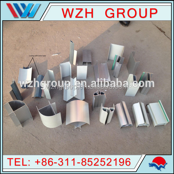 aluminum profiles for sandwich panel clean room conncetion